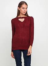 Бордовый свитер пуловер Massimo M/L