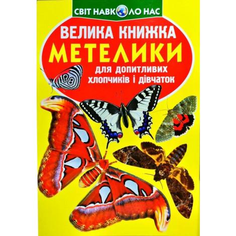 Велика книжка Крістал бук Метелики (F00019393)