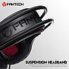 Наушники для геймеров с микрофоном, наушники для компьютера Fantech Sniper 7.1 HG16, фото 4