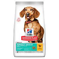 ХІЛЛС сухий корм для дорослих собак з куркою - 1,5 кг/HILL'S