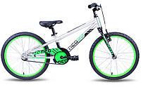 """Велосипед 20"""" Apollo NEO boys черный/салатовый"""