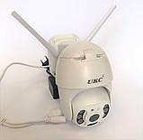 Уличная IP, Поворотная WIFI камера видеонаблюдения UKC CAD IP 360/90 2 mp  Беспроводная, фото 3