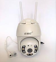 Уличная IP, Поворотная WIFI камера видеонаблюдения UKC CAD IP 360/90 2 mp  Беспроводная