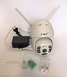 Уличная IP, Поворотная WIFI камера видеонаблюдения UKC CAD IP 360/90 2 mp  Беспроводная, фото 6
