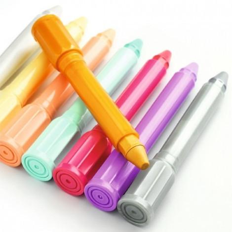 Гелеві олівці Djeco Теплі відтінки (DJ08814)