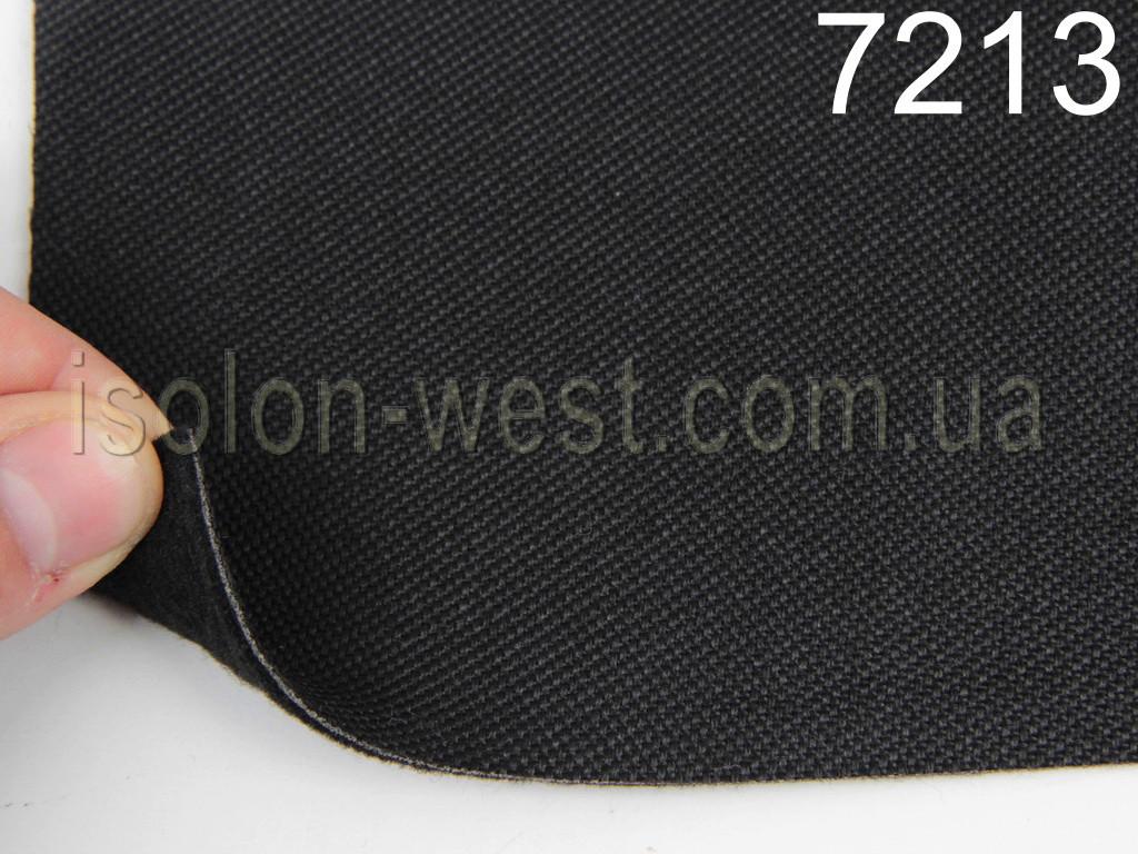 Ткань для сидений автомобиля, цвет черный, на войлоке 1мм (для центральной части), Германия