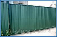 Профнастил ПС10 0,4мм RAL6005 (зеленый), фото 5