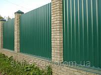 Профнастил ПС10 0,4мм RAL6005 (зеленый), фото 4