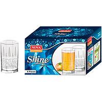 Набор стаканов 6шт 280мл Shine