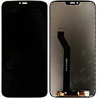 Дисплей Motorola Moto G7 Power XT1955-4 complete with touch Black