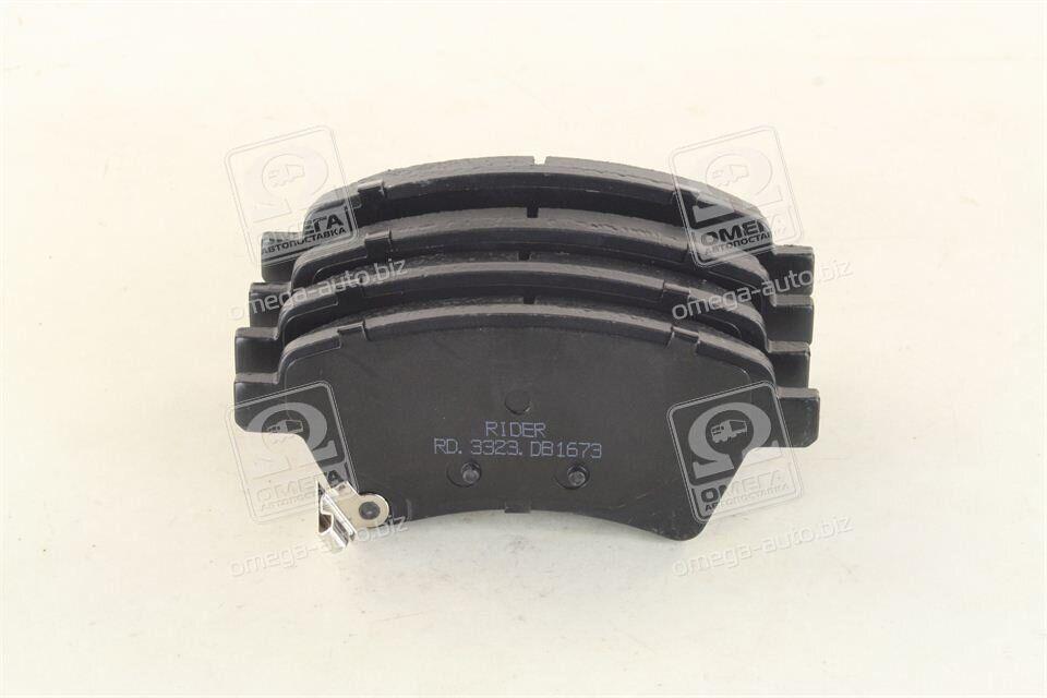 Колодка тормозная диска SUZUKI SX4 06- передняя | RIDER