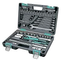Набір ручного інструменту STELS CrV 82 пр вечная гарантия, фото 1