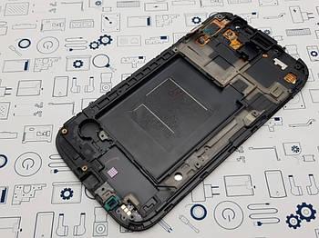 Дисплей Samsung GT-i9082 модуль синий Сервисный оригинал с разборки