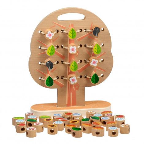 Іграшки з дерева Світ дерев'яна дерев'яних іграшок Шнурівка Дерево (Д104)