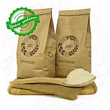 Органическая гречневая мука 1 кг сертифицированная без ГМО из цельного зерна необжаренной гречихи, фото 3
