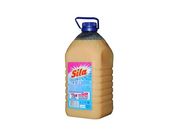 Жидкое мыло хозяйственное Sila СИЛА  5 литров (4.5 кг), фото 2