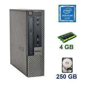 Dell OptiPlex 7010 SFF / Intel Pentium G2020 (2 ядра по 2.9 GHz) / 4 GB DDR3 / 250 GB HDD, фото 2