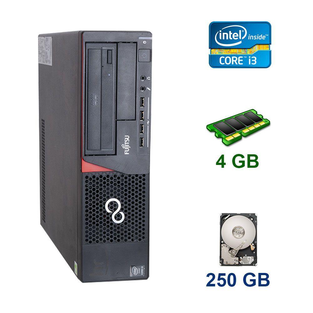 Fujitsu Esprimo E720 DT / Intel Core i3-4330 (2 (4) ядра по 3.5 GHz) / 4 GB DDR3 / 250 GB HDD