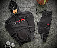 Мужской спортивный костюм New Balance черного цвета
