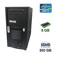 EuroCom ATX Tower / Intel Core i5-2320 (4 ядра по 3.0 - 3.3 GHz) / 8 GB DDR3 / 500 GB SSHD / nVidia GeForce GTX 1050, 2 GB GDDR5, 128-bit
