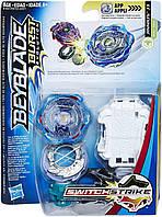 Бейблейд Джинниус Д3 с пусковым устройством Hasbro Beyblade Burst Evolution SwitchStrike Jinnius J3