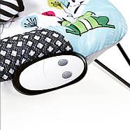 Шезлонг-качалка Kinderkraft Smartfun +ВИДЕО, фото 9