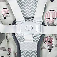Кресло-качалка Kinderkraft Flo Pink +ВИДЕО, фото 2