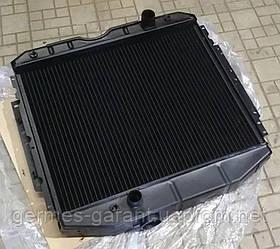 Радіатор водяного охолодження ГАЗ 53 3 рядний мідний