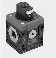 Отсечной клапан ручной со спуском воздуха, фото 1