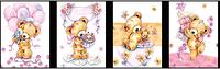 Пакеты подарочныебумажныеламинированные, 28*34*9 cm,12-14 дизайнов (ассорти:мужские, детские,цветы)., фото 1