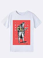 Філософська футболка чоловіча IKRA біла