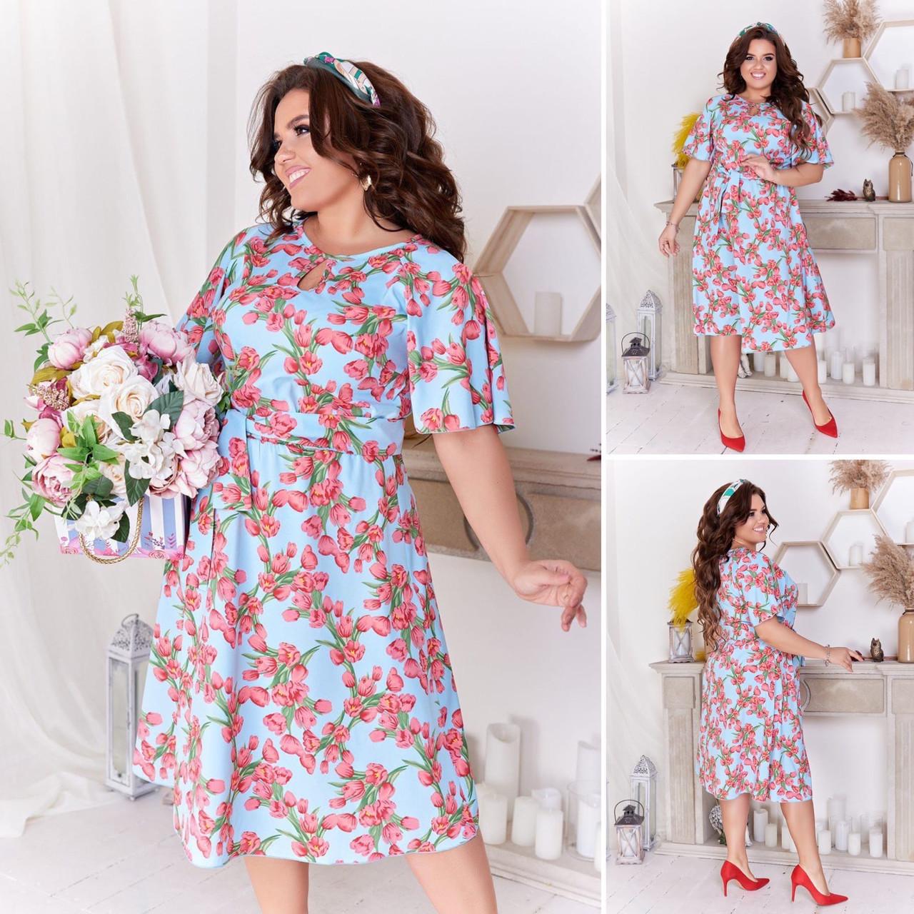 Платье женское 2800вл батал