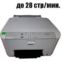 Принтер Epson WP-M4095N / Струйная ч/б печать / 28 стр.мин / USB, Ethernet