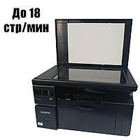МФУ HP LaserJet M1132 MFP / Лазерная монохромная печать / A4 / печать 600x600 dpi / сканер 1200x1200 dpi / 18 стр.мин / USB