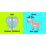 Книга картонка Веселі крутилки Дикі тварини (F00021561), фото 3