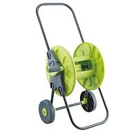 """Візок зелена Presto-PS для шлангу 1/2"""";5/8"""";3/4"""" 60м з колесами"""