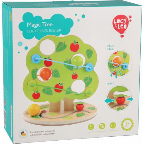Дерев'яна яна іграшка Lucy&Leo Гірка-Чарівне дерево (LL202)