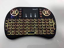 Универсальная беспроводная клавиатура с тачпадом, подсветкой и мультимедийными клавишами, фото 2