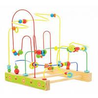 Іграшка з дерева Світ дерев'яних іграшок Дерев'яний лабіринт Пчілки (Д380)