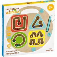 Іграшка з дерева Світ дерев'яних іграшок Магнітний лабіринт Геометрія (Д443)