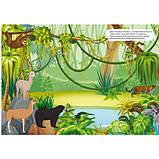 Книга Кристал Бук Книжка з наліпками Тварини (F00022582), фото 2