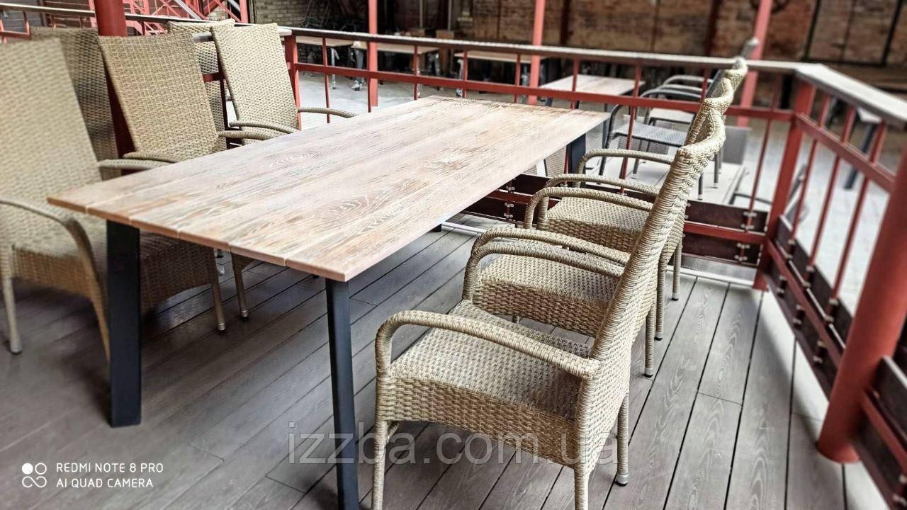 "Стол деревянный для террасы ""Бергамо"""