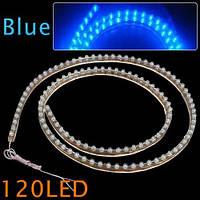 Светодиодная подсветка для тюнинга автомобиля LED лента водонепроницаемая 120 см