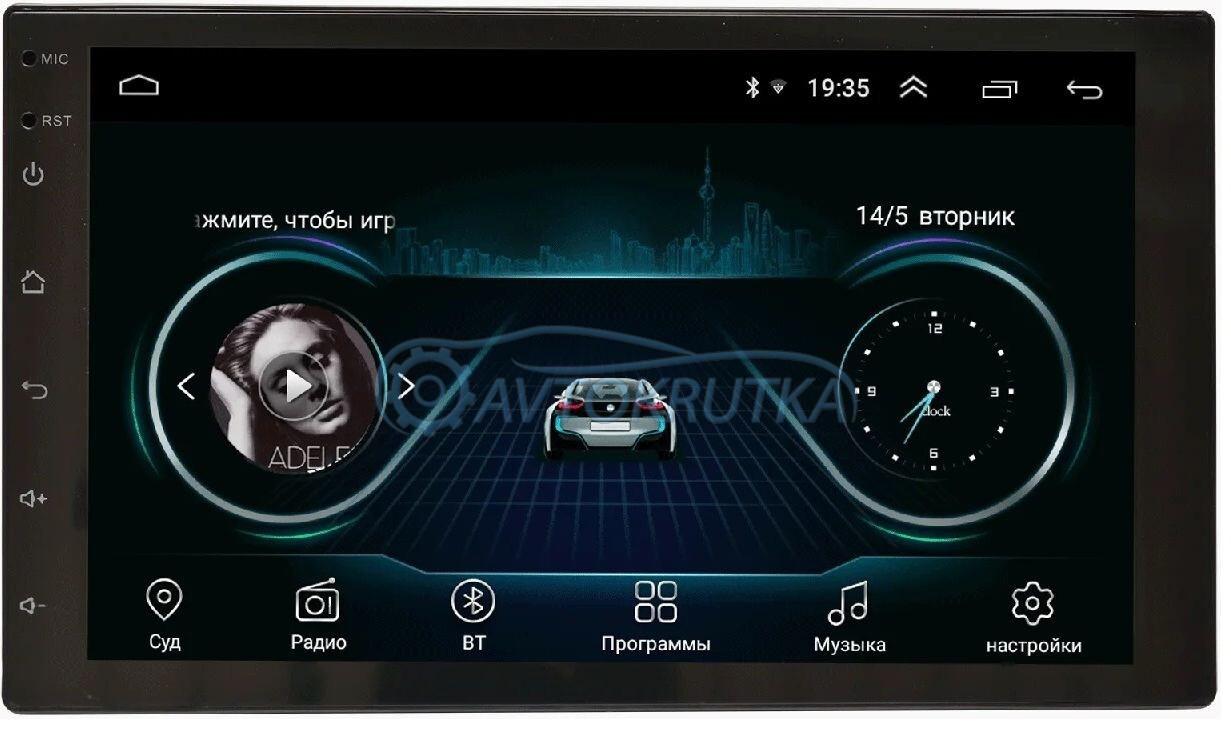 Автомагнитола Prime-X B28 (Android 8.1). Магнитола в машину