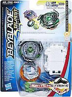 Бейблейд Волтраек В3 с пусковым устройством Hasbro Beyblade Burst Evolution SwitchStrike Genesis Valtryek V3
