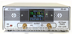 Лабораторний блок живлення TFT 15V 100A з лічильником ампер-годин і терморегулятором BVP Electrionics