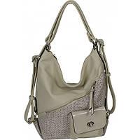 Сумка-рюкзак женская №86370-1 Бежевый, фото 1