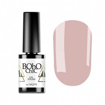 Гель-лак для ногтей Naomi Boho Chic BC184 Бежевый, 6мл