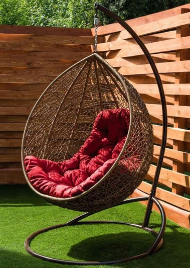 Кресло-качалка кокон