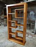 Настенные деревянные полочки в стиле лофт в ассортменте, фото 5